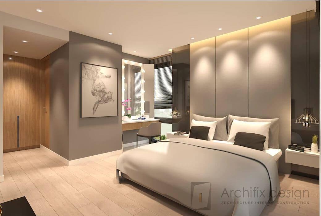 Thêm hình ảnh về phòng ngủ tại căn hộ Duplex