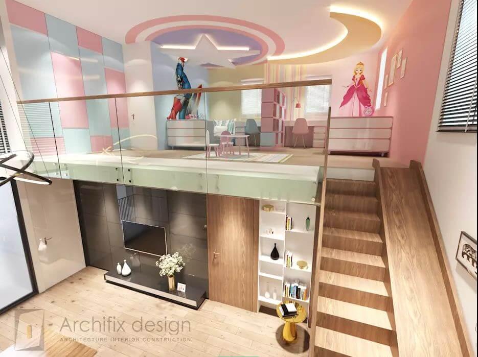 Cái nhìn tổng thể về căn hộ Duplex