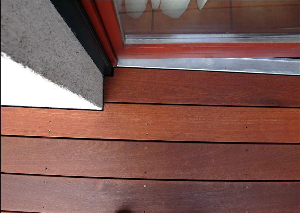 Lắp tấm sàn gỗ - Hiên nhà bằng gỗ - 1