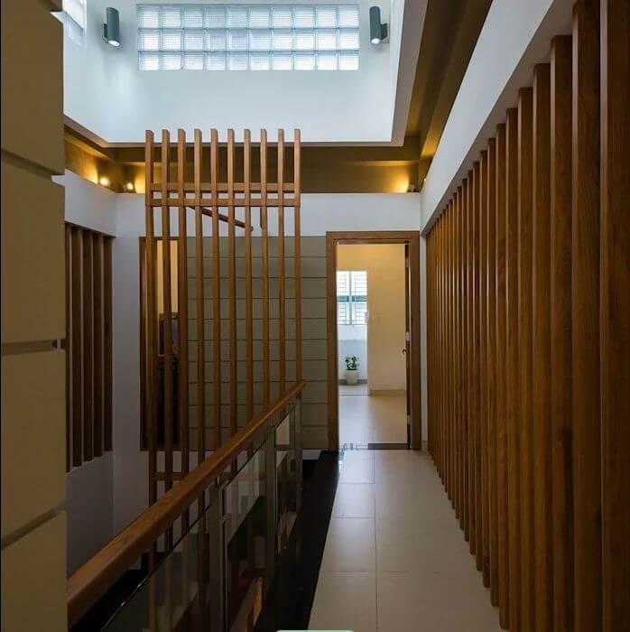 Giếng trời cho nhà ống thêm ánh sáng của mẫu nhà ống 4 tầng đẹp - 1