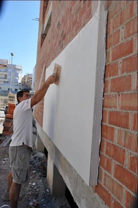 Xây tường 2 lớp - Chống nóng nhà hướng tây