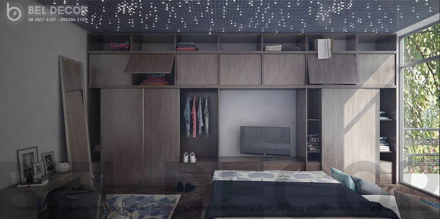 Phòng ngủ 2 của mẫu biệt thự Villa - 1