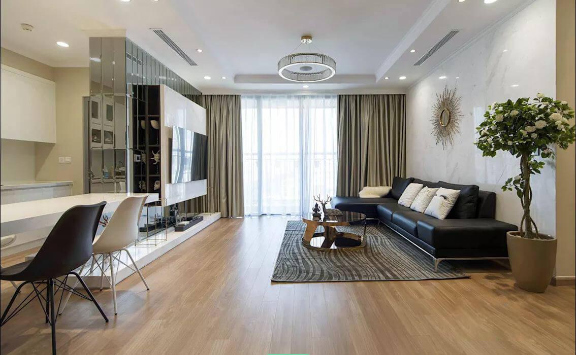 Đảm bảo ánh sáng - Thiết kế nội thất nhà chung cư