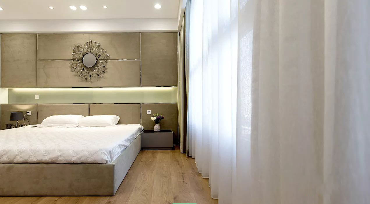 Phòng ngủ lớn - Thiết kế nội thất nhà chung cư - 1