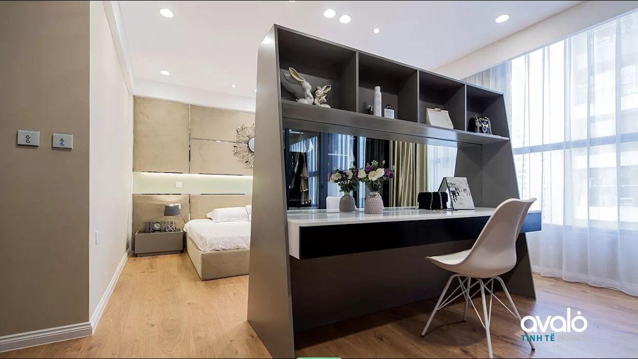 Bàn làm việc - Thiết kế nội thất nhà chung cư