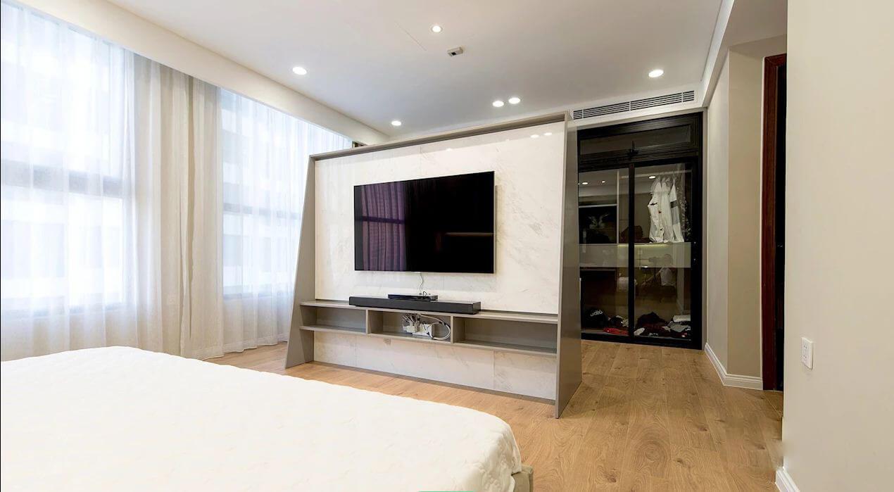 Bàn làm việc - Thiết kế nội thất nhà chung cư - 1