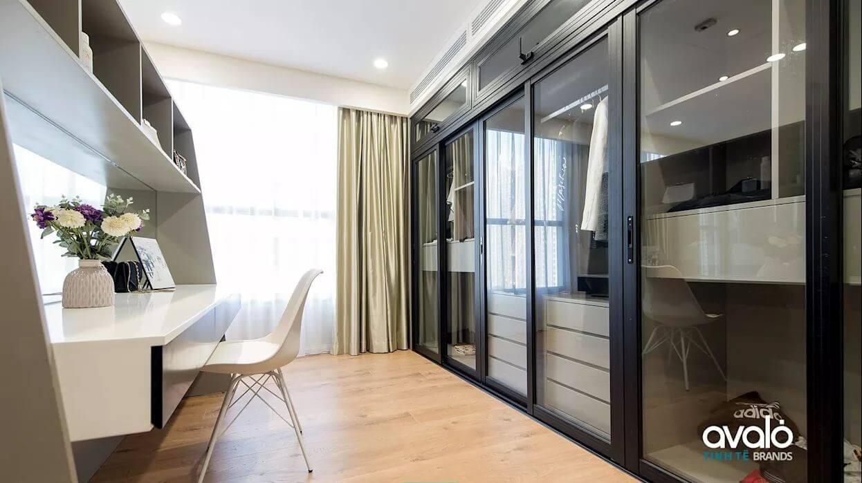 Tủ quần áo cá nhân - Thiết kế nội thất nhà chung cư