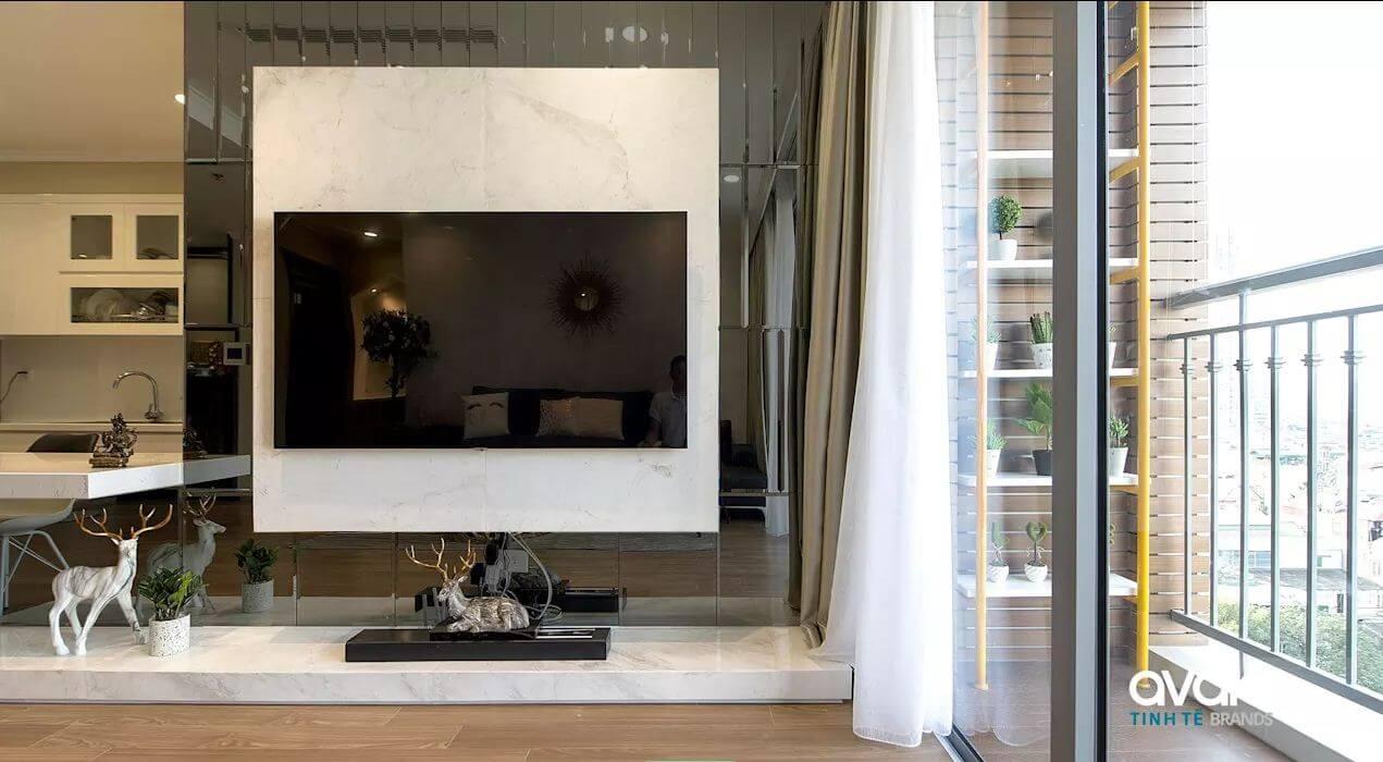 Một góc ban công - Thiết kế nội thất nhà chung cư