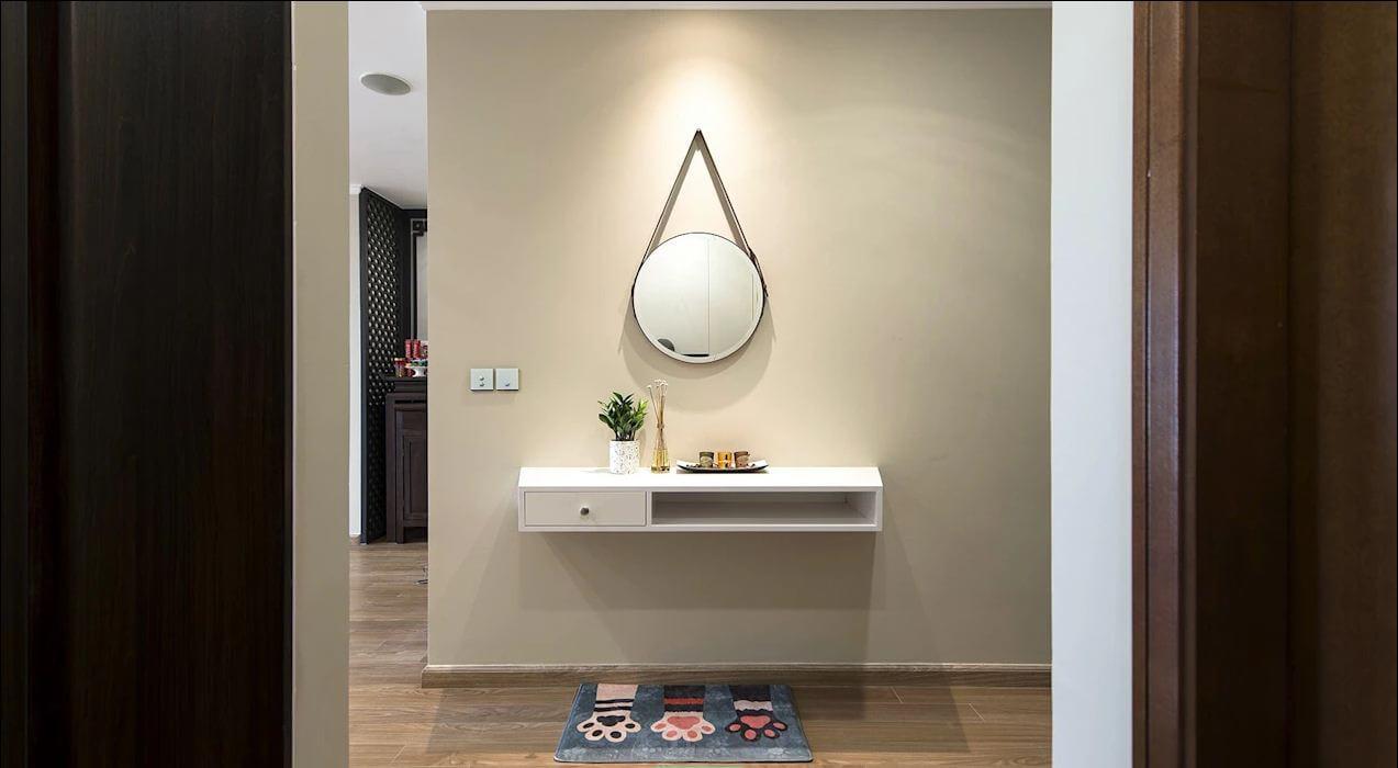 Tận dụng những khoảng tường trống - Thiết kế nội thất nhà chung cư - 1