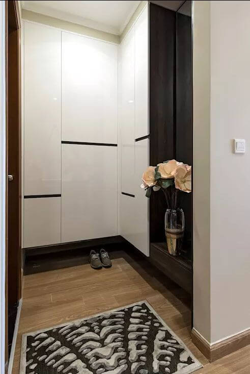 Khu vực tủ đồ - Thiết kế nội thất nhà chung cư