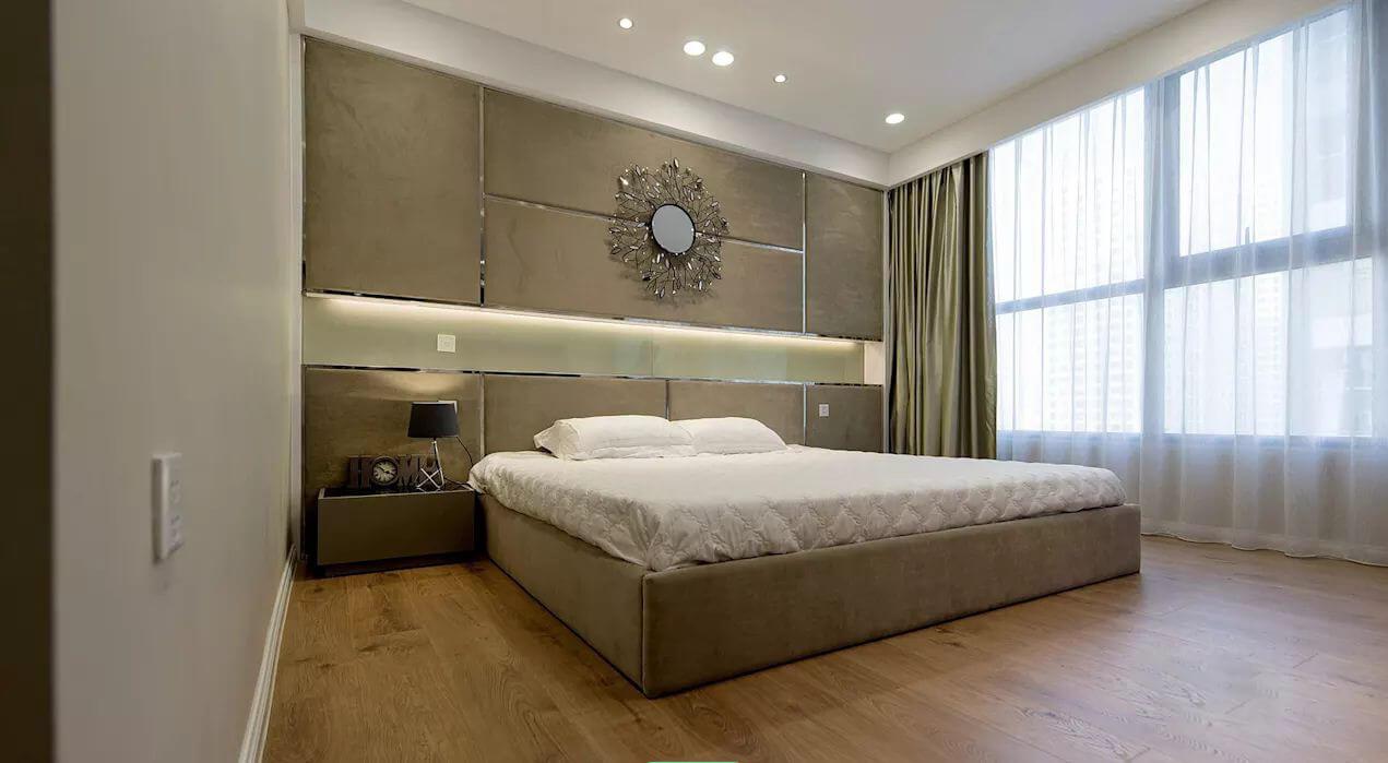 Phòng ngủ lớn - Thiết kế nội thất nhà chung cư