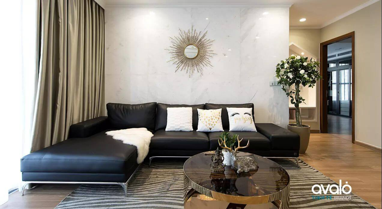 Phòng khách với những yếu tố phong thủy - Thiết kế nội thất nhà chung cư
