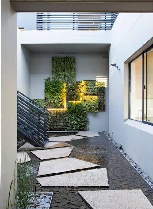 Cách đưa ánh sáng tự nhiên vào nhà thông qua giếng trời - 9