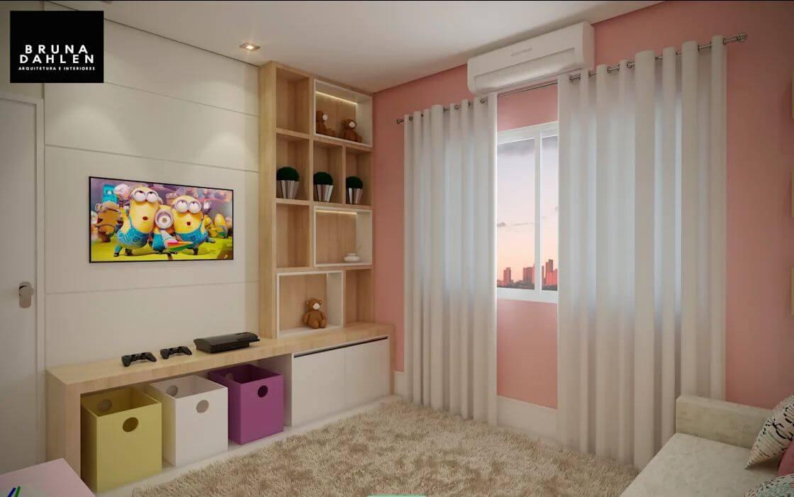 Sơn tường nhà - Ngôi nhà đẹp với tone màu hồng - 1