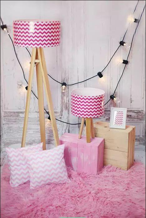 Lựa chọn đèn chiếu sáng - Ngôi nhà đẹp với tone màu hồng