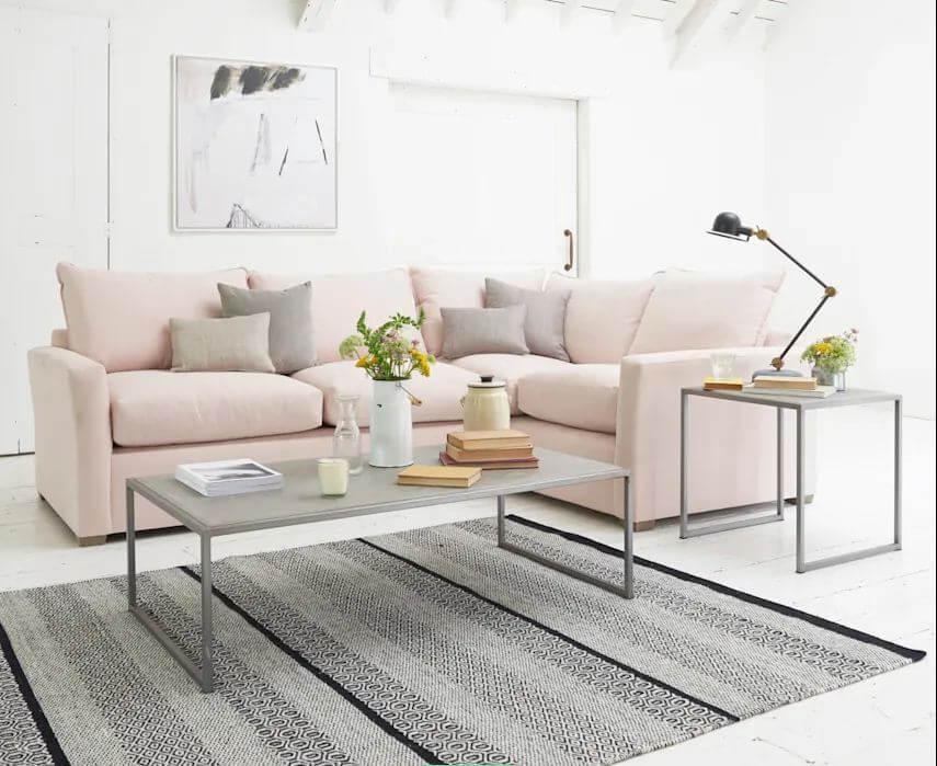 Lựa chọn Sofa - Ngôi nhà đẹp với tone màu hồng