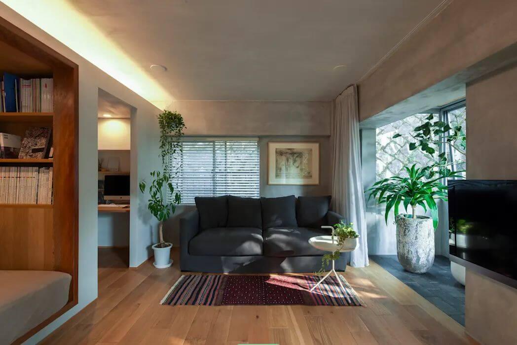Phòng khách ấm cúng - Kiểu nhà đẹp - 1