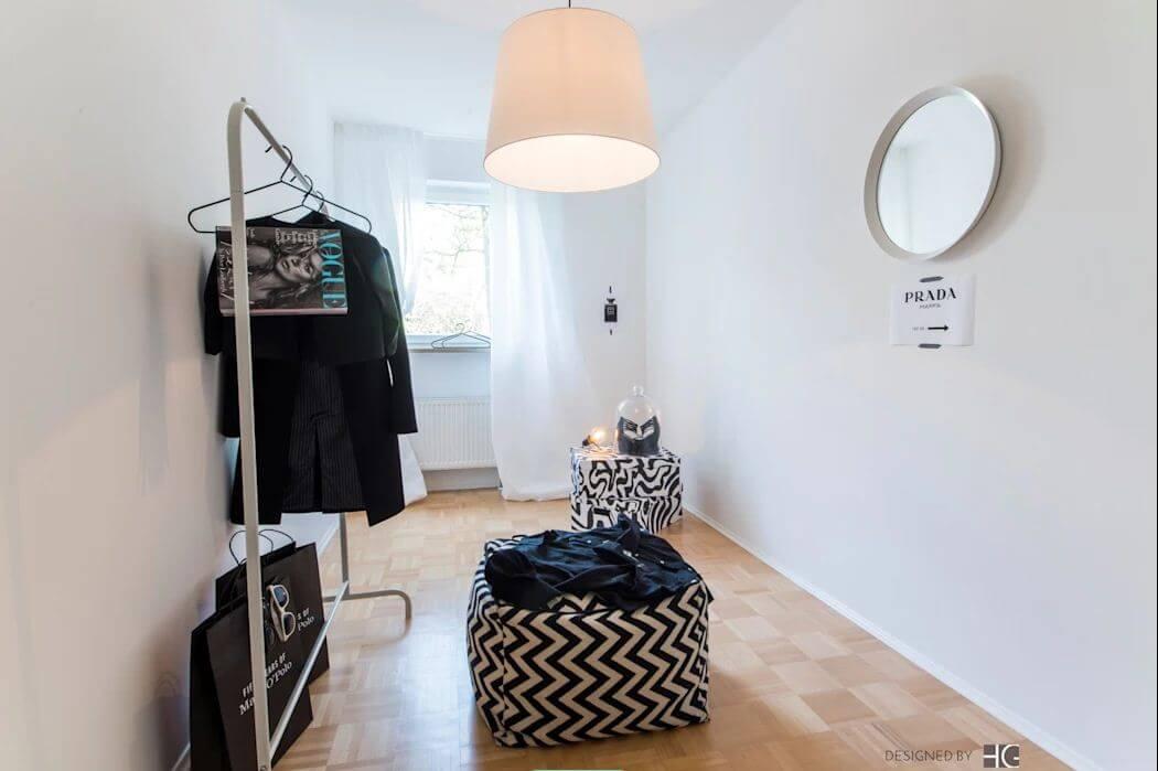 Phong cách tối giản - Thiết kế phòng thay đồ - 1