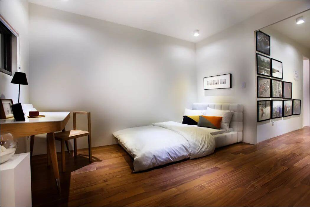 Không gian phòng ngủ - Mặt tiền nhà 2 tầng - 1