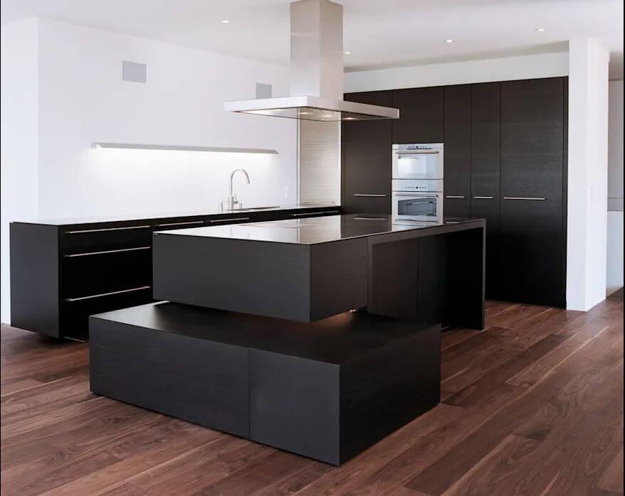 Căn bếp hiện đại - Mẫu thiết kế nhà vườn đẹp