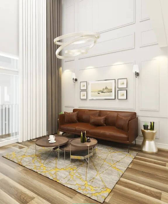Chất liệu và màu sắc - Bí quyết chọn mua sofa - 1