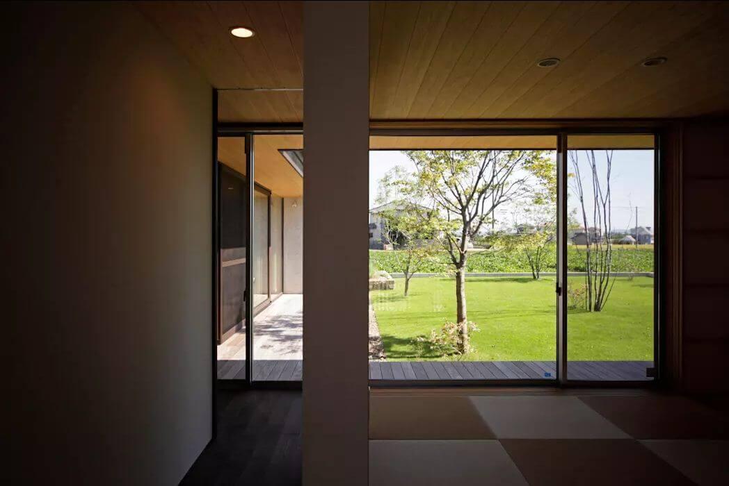 Phòng ngủ yên tĩnh - Nhà 1 tầng hiện đại