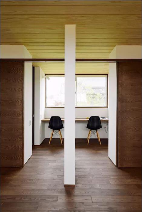 Góc làm việc đầy cảm hứng - Nhà 1 tầng hiện đại