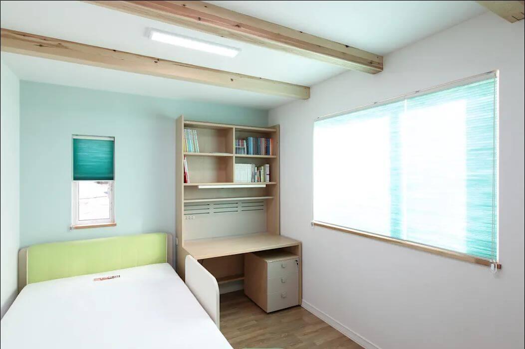 Phòng ngủ - Mẫu nhà kiểu Hàn Quốc - 1