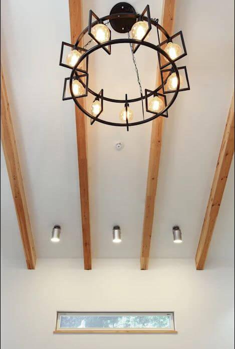 Sử dụng đèn làm điểm nhấn - Mẫu nhà kiểu Hàn Quốc - 1