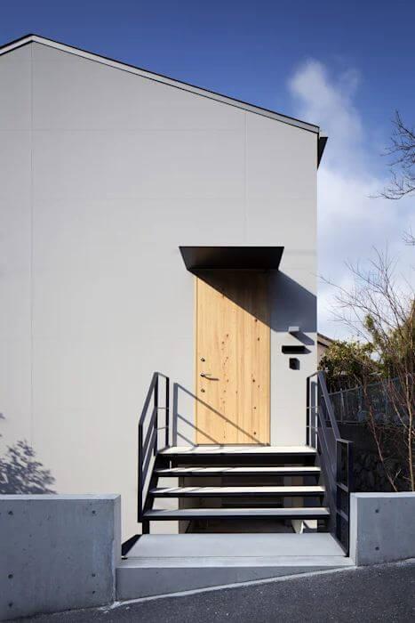 Lối vào nhà - Mẫu nhà kiểu Nhật