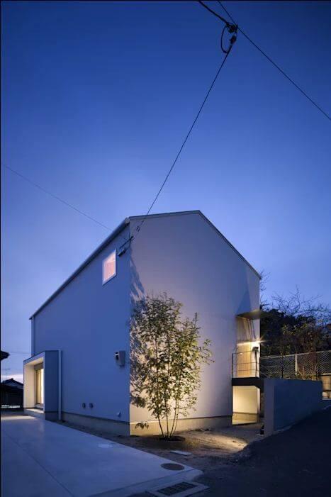 Không gian ngoại thất của mẫu nhà kiểu Nhật