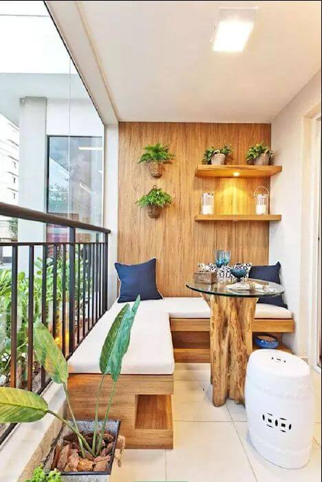 Mẫu ghế Sofa gỗ D-I-Y dành cho phòng khách gia đình
