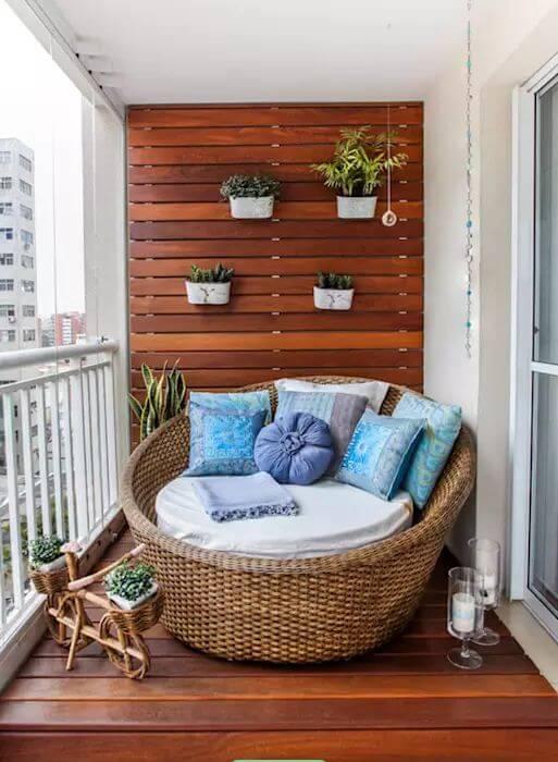 Ghế tựa từ mây tre đan dành cho phòng khách gia đình