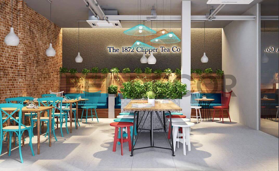Zone 1 - Không gian năng động của quán cà phê