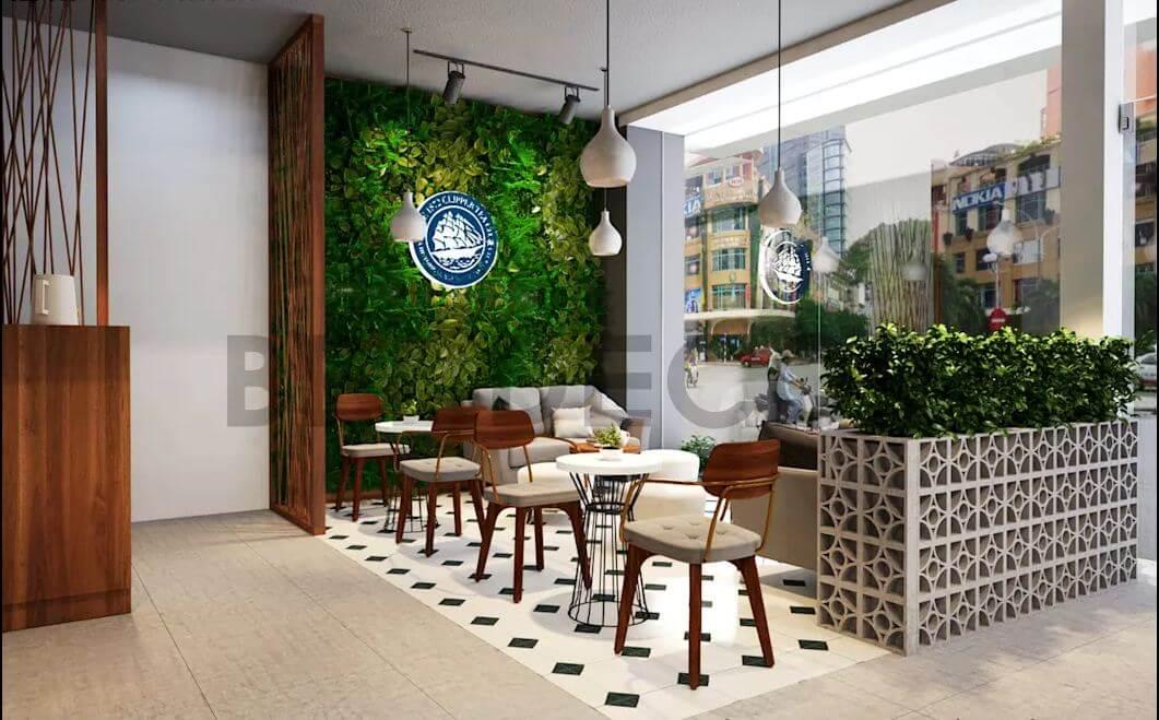 Zone 3 - Không gian thân mật và ấm cúng của quán cà phê