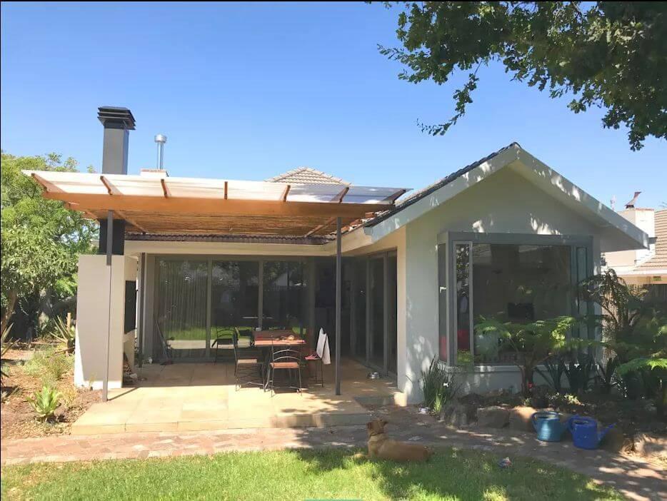 Cải tạo mái hiên cho không gian mát mẻ - Dự án sửa nhà cũ