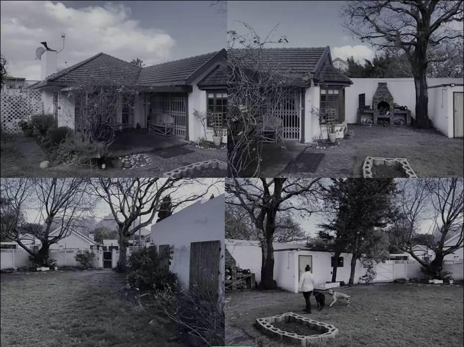 Sân vườn khi chưa được cải tạo - Dự án sửa nhà cũ