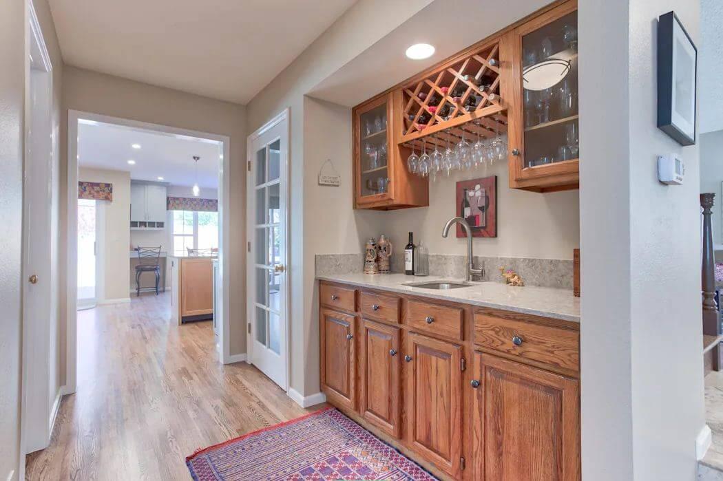 Tủ rượu gỗ - Thiết kế hầm rượu - 1
