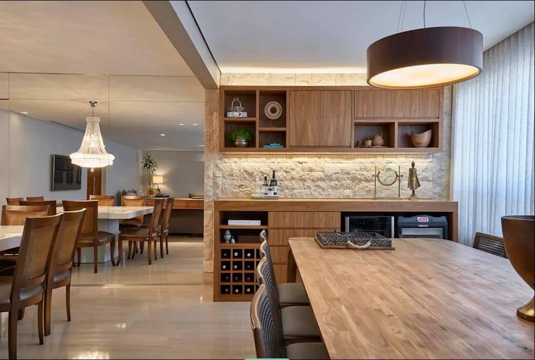 Tủ rượu gỗ - Thiết kế hầm rượu - 2