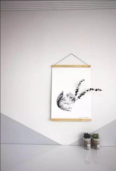 Tranh treo tường - Thiết kế quán Cafe đẹp
