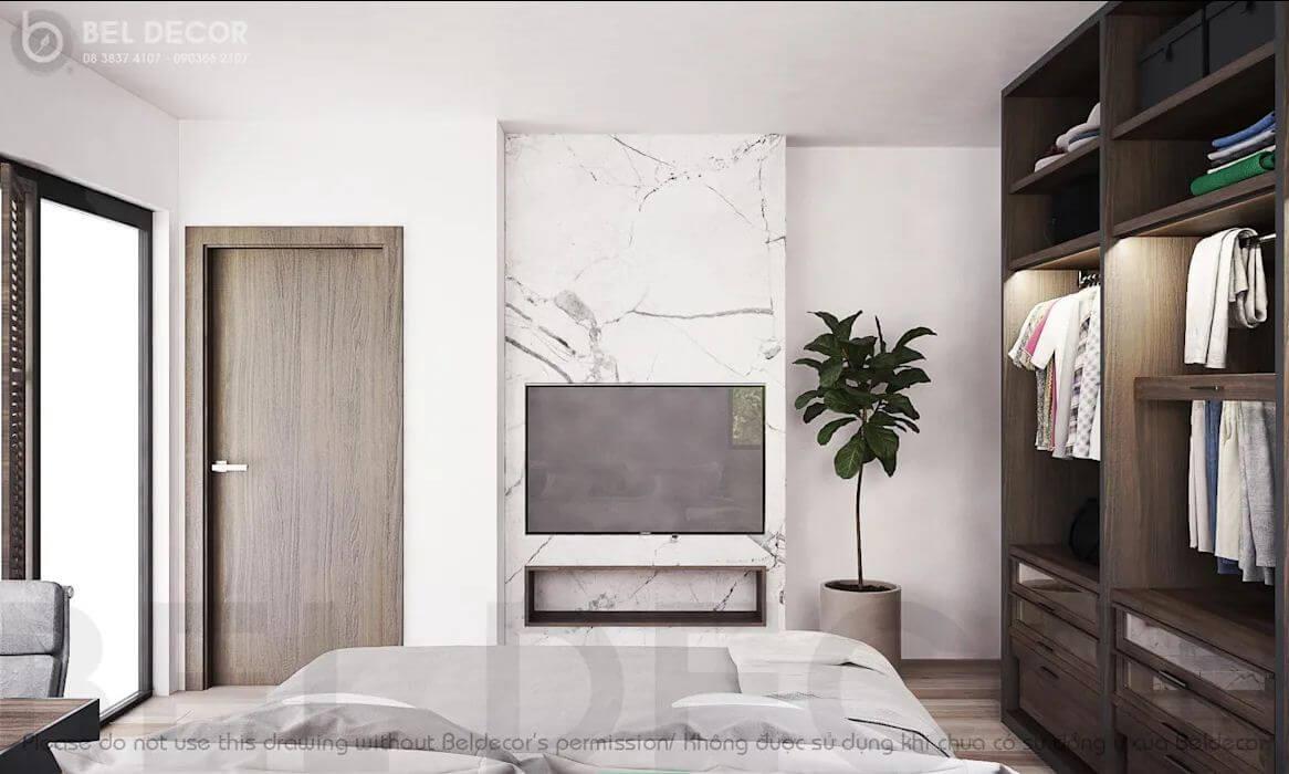 Không gian phòng ngủ - Villa hiện đại - 1