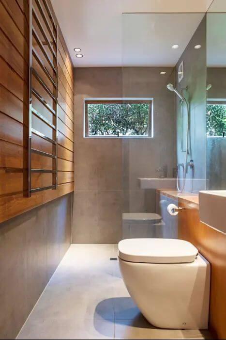 Nhà vệ sinh hiện đại - Xây nhà khung thép