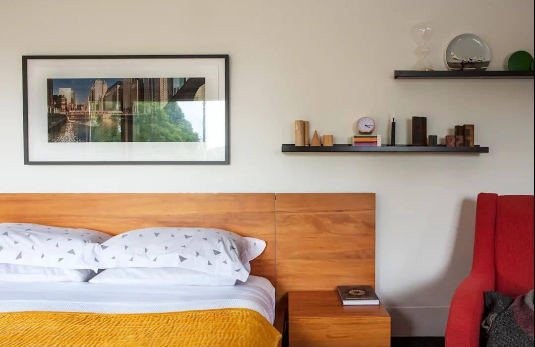 Phòng ngủ ấm cúng - Xây nhà khung thép
