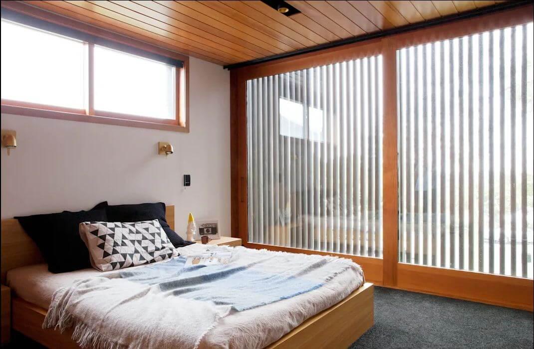 Phòng ngủ ấm cúng - Xây nhà khung thép - 1