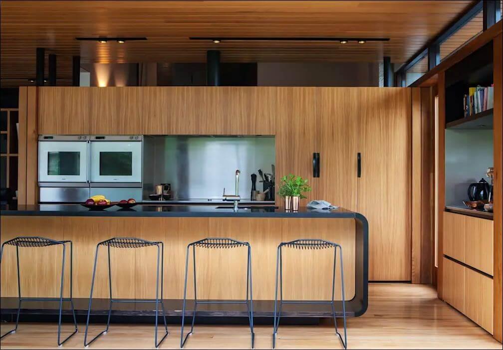 Thiết kế bếp bắt mắt - Xây nhà khung thép - 1