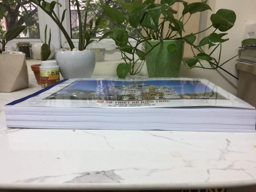 Một bộ hồ sơ thiết kế chuyên nghiệp và chi tiết lên tới cả 100 trang