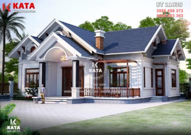 Biệt thự nhà vườn 2 tầng đẹp tại Thanh Hóa - Mã số: BT 20128
