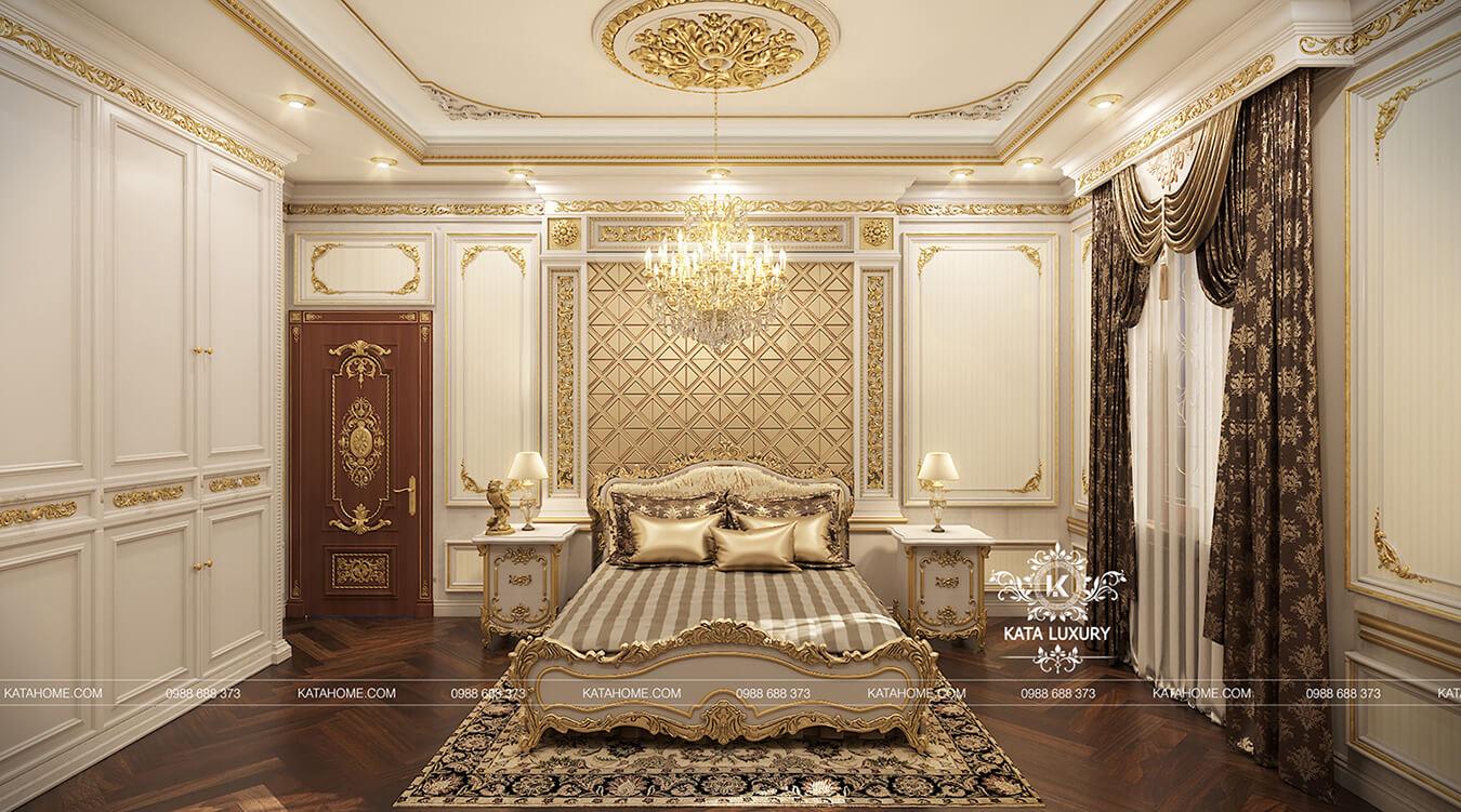 Thiết kế nội thất tân cổ điển sang trọng ở Bắc Giang