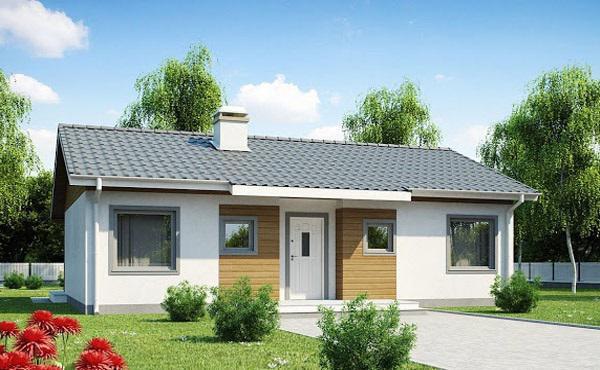 Kiến trúc sư thiết kế nhà cấp 4 tiện nghi, thoáng đẹp trên diện tích 100m2. Nhà gồm 3 phòng ngủ, phòng khách, bếp ăn, phòng tắm, WC và sân vườn hoặc gara ô tô.