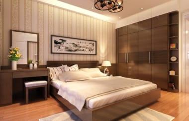 Tông màu của đất thường được sử dụng cho không gian phòng ngủ.